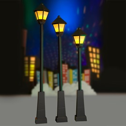 Incredible Light Lampposts Kit (set of 3)