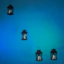 Midnight Glow Lanterns Kit (set of 4)