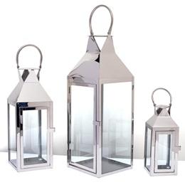 Metal Lanterns Set