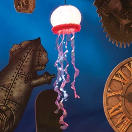 Small Light-up Jellyfish Kit (set of 8)