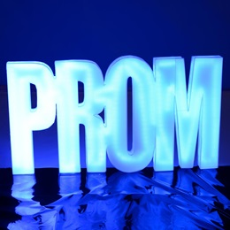 Prom Glow Letters Kit
