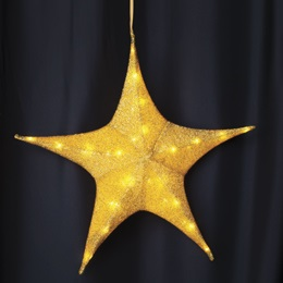 Large Gold Shining Star Kit