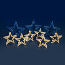 Stars of Blue and Gold Kit (set of 9)