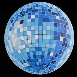 Get Into the Groove Printed Mirror Ball Kit