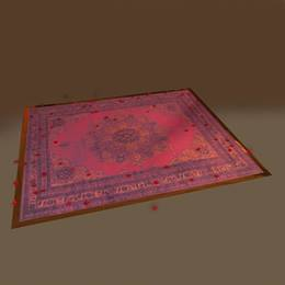 Opulent Accents Area Rug and Rose Petals Kit