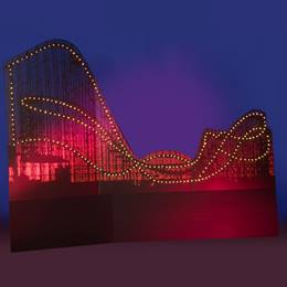 Crazy Carnival Coaster Kit