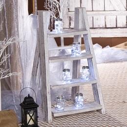 White Shabby Chic Step Ladder