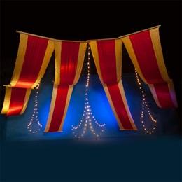 Big Top Fabric Kit With Lights (set of 4)