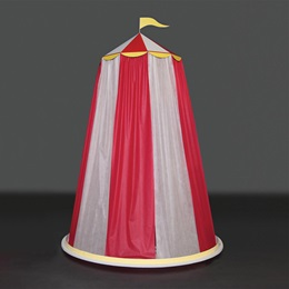 Red and White Carnival Tent Kit