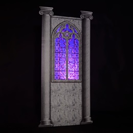 Stained Glass Main Window Wall Kit
