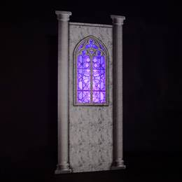 Stained Glass Side Window Wall Kit