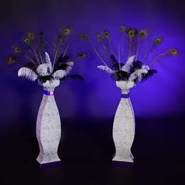 Ornamental Accents Tall Vases Kit (set of 2)