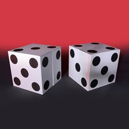 That's How We Roll Large White Dice Kit (set of 2)