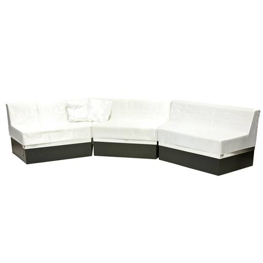 Take Time To Relax White Sofa Kit Anderson S