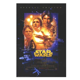 Special Edition Star Wars Movie Poster