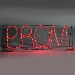 Standing Prom Sign