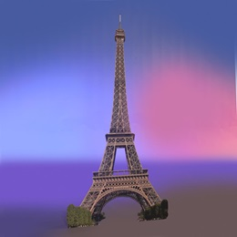 Eiffel Tower Landmark Kit