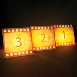 Fancy Hollywood Filmstrips Kit (set of 4)