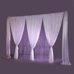 Crystal Elegance Fabric Wall and Curtain Kit