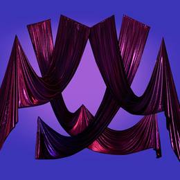 Majestic and Magical Hanging Fabric Swags Kit