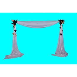 Lavish Luster Fabric and Leaves Side Wall Kit