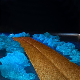 Luminous Glittered Pathway Kit