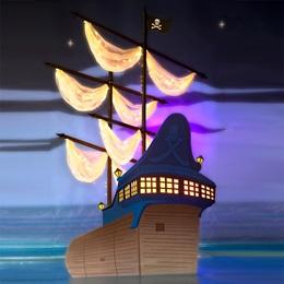 Jolly Roger Pirate Ship Kit