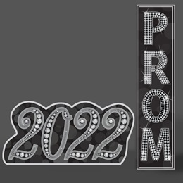 Light the Lights 2020 Standup and Prom Sign