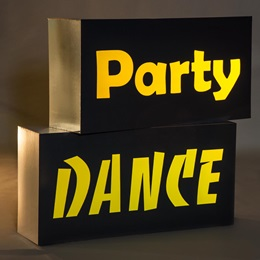 Dance/Party Blocks Theme Kit (set of 2)