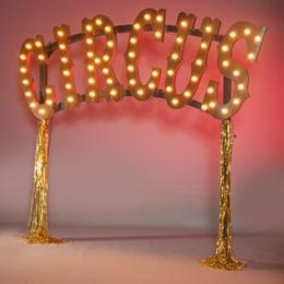 Light-up Circus Sign Kit