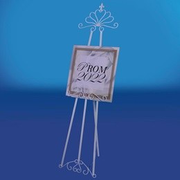 Midwinter Metal Easel With Prom Sign Kit