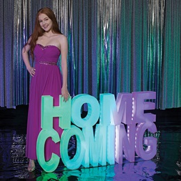 Homecoming Glow Letters Kit