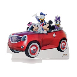 Mickey Mouse Car Ride Life Size Stand Up