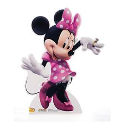 Dancing Minnie Mouse Life Size Stand Up