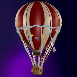 Flight of Fancy Hot Air Balloon Kit