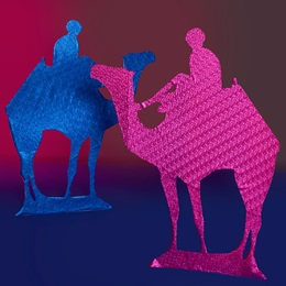 Arabian Paradise Camel and Rider Kit (set of 2)