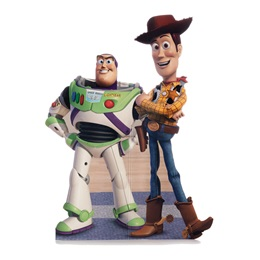 Buzz and Woody Life Size Stand Ups
