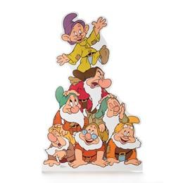 Seven Dwarfs Life Size Stand Up