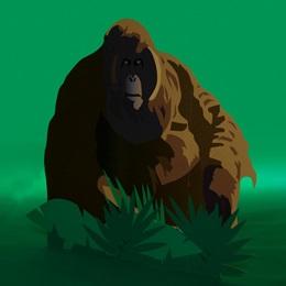 Going Ape Orangutan Standup Kit