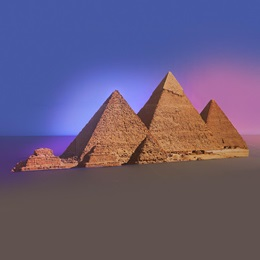 Heart of Egypt Pyramids Kit