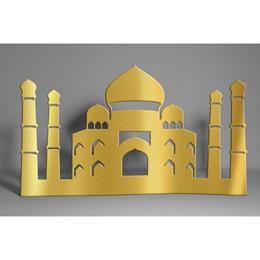 Gold Taj Mahal Silhouette Kit