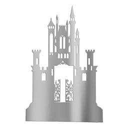 Silver Gothic Mystery Castle Silhouette Kit
