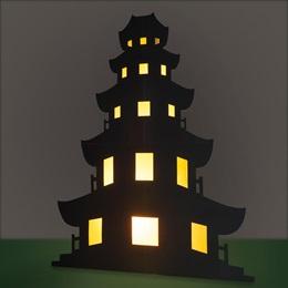 Oriental Perfection Pagoda Kit