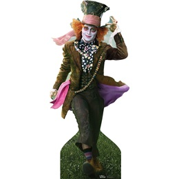 Mad Hatter Life Size Stand Up