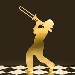 Golden Harmony Trombone Player Kit
