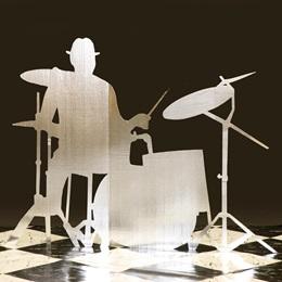 Silver Beats Drummer Kit