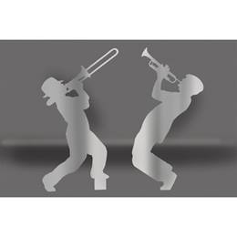 Silver Brass Players Silhouette Kit