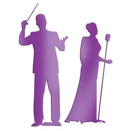 Purple Maestro & Singer Silhouettes Kit