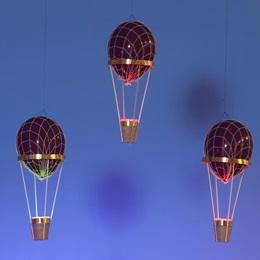 Up, Up, and Away Hot Air Balloons Kit (set of 3)