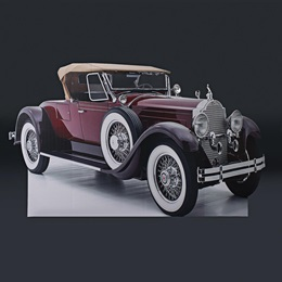 Classic Car Full-color Life Size Cut Out